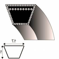 Courroie B45 - Trapézoïdale 17 mm x 1212 mm