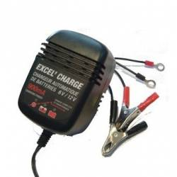 Chargeur de batterie XL900 - Excel - 6V/12V - 900 MA